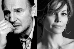 Liam Neeson and Diane Lane